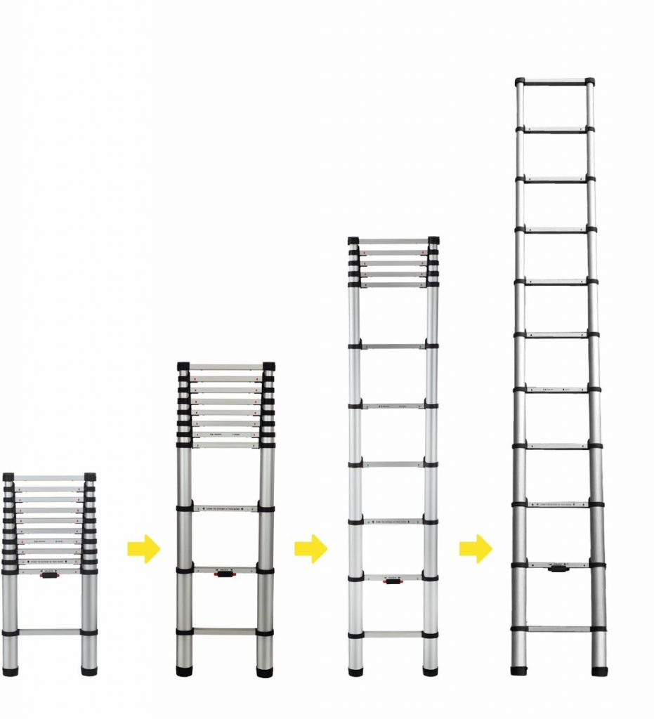Do Telescopic Ladders Have To Be Fully Extended? - Ladder Review