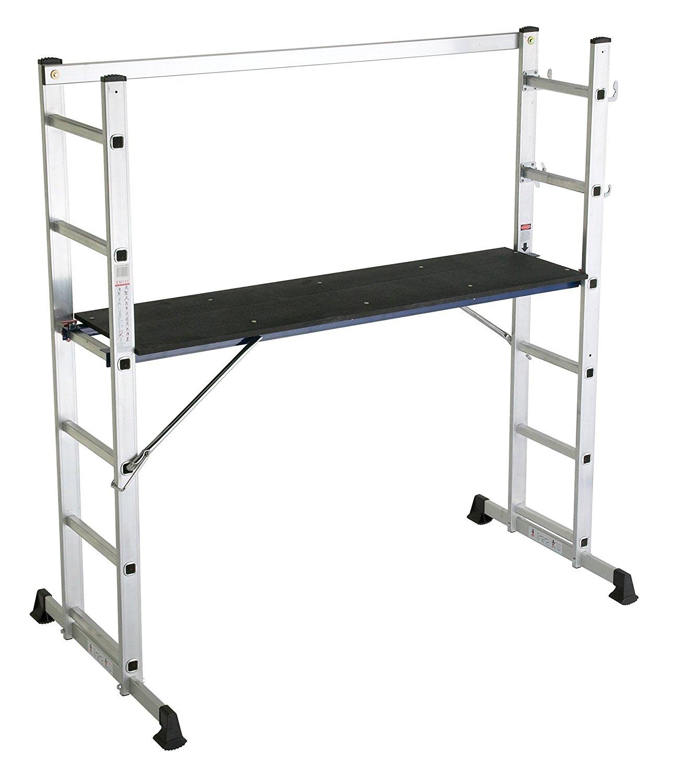 Lyte 5 Way Platform Ladder Scaffold style ladder