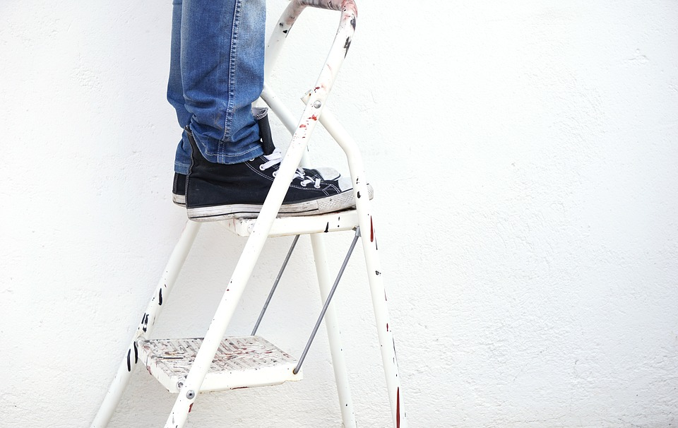Which ladder to buy for DIY projects.