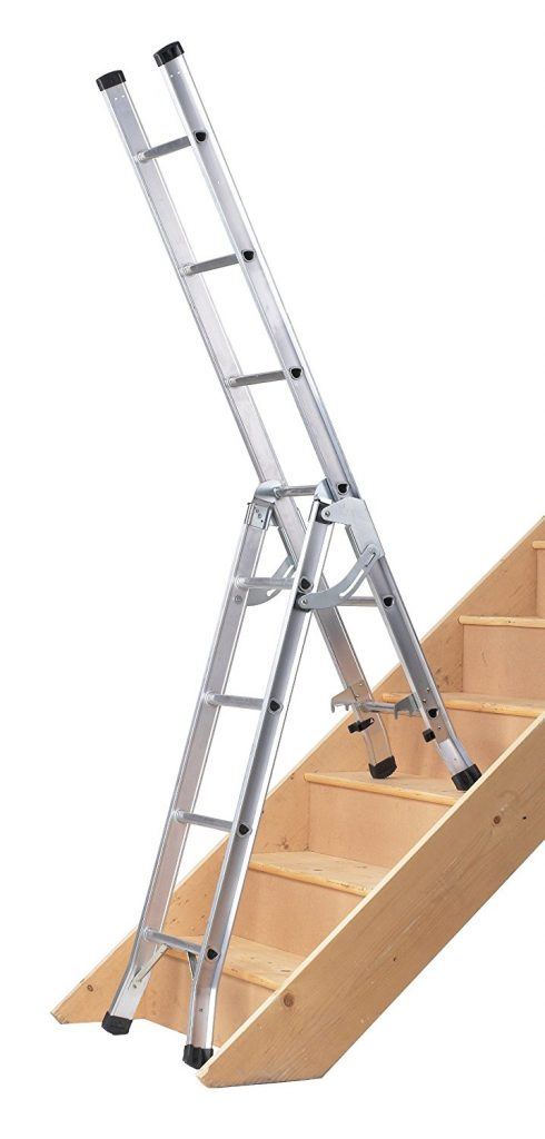 Abru 3 Way Combination Ladder on Stairs