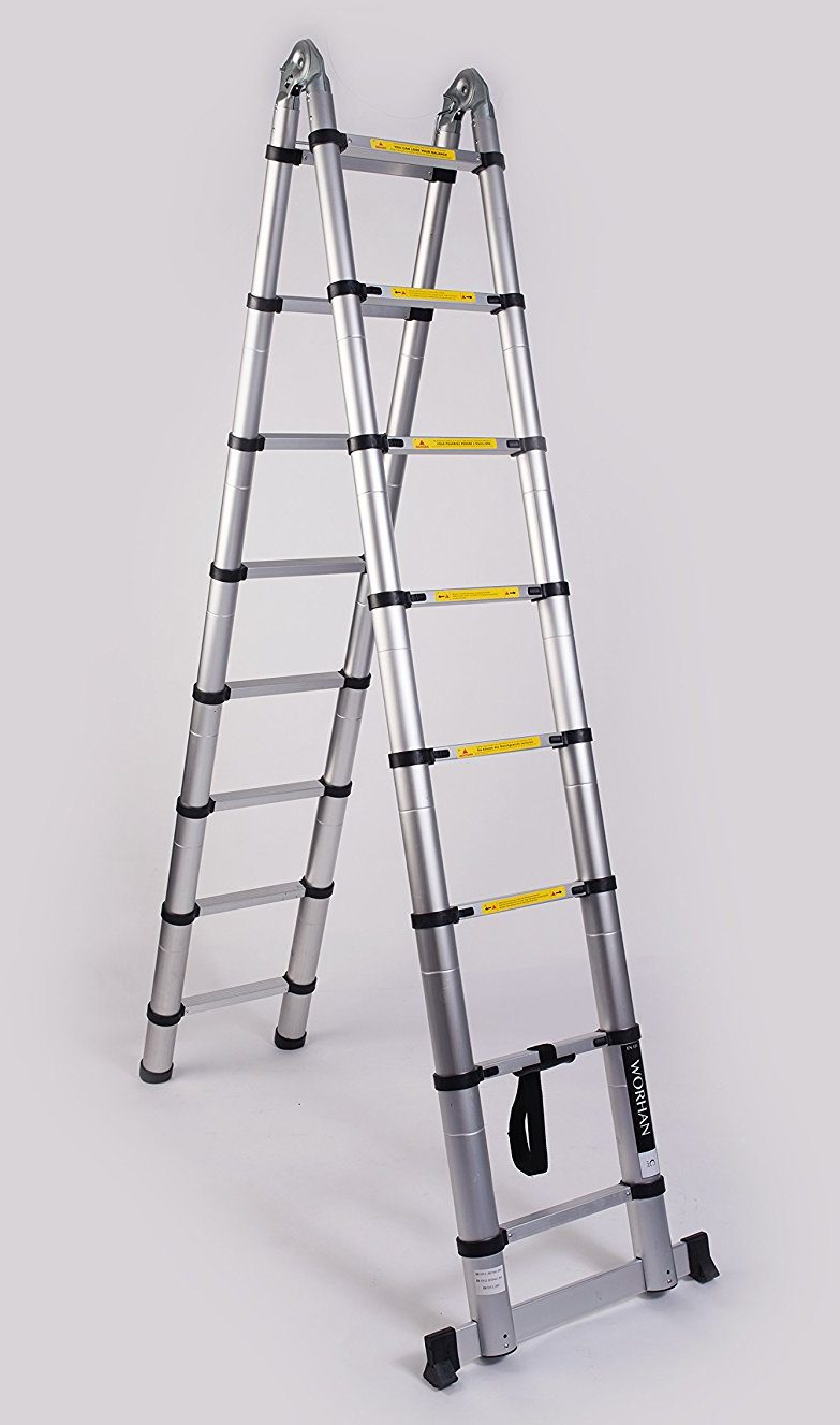 5.0m Double Telescopic Ladder