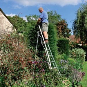 Henchman Platform 3 Leg Adjustable Tripod Ladders Steps Orchard Fruit picking