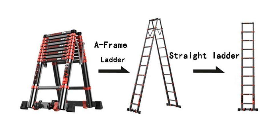 What is the longest telescopic ladder? 8.2M Telescopic Ladder