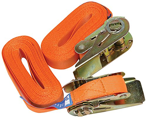 How to secure a ladder with ladder secure straps.